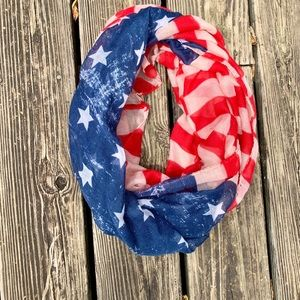 Accessories - Stars and Stripes Infinity Scarf